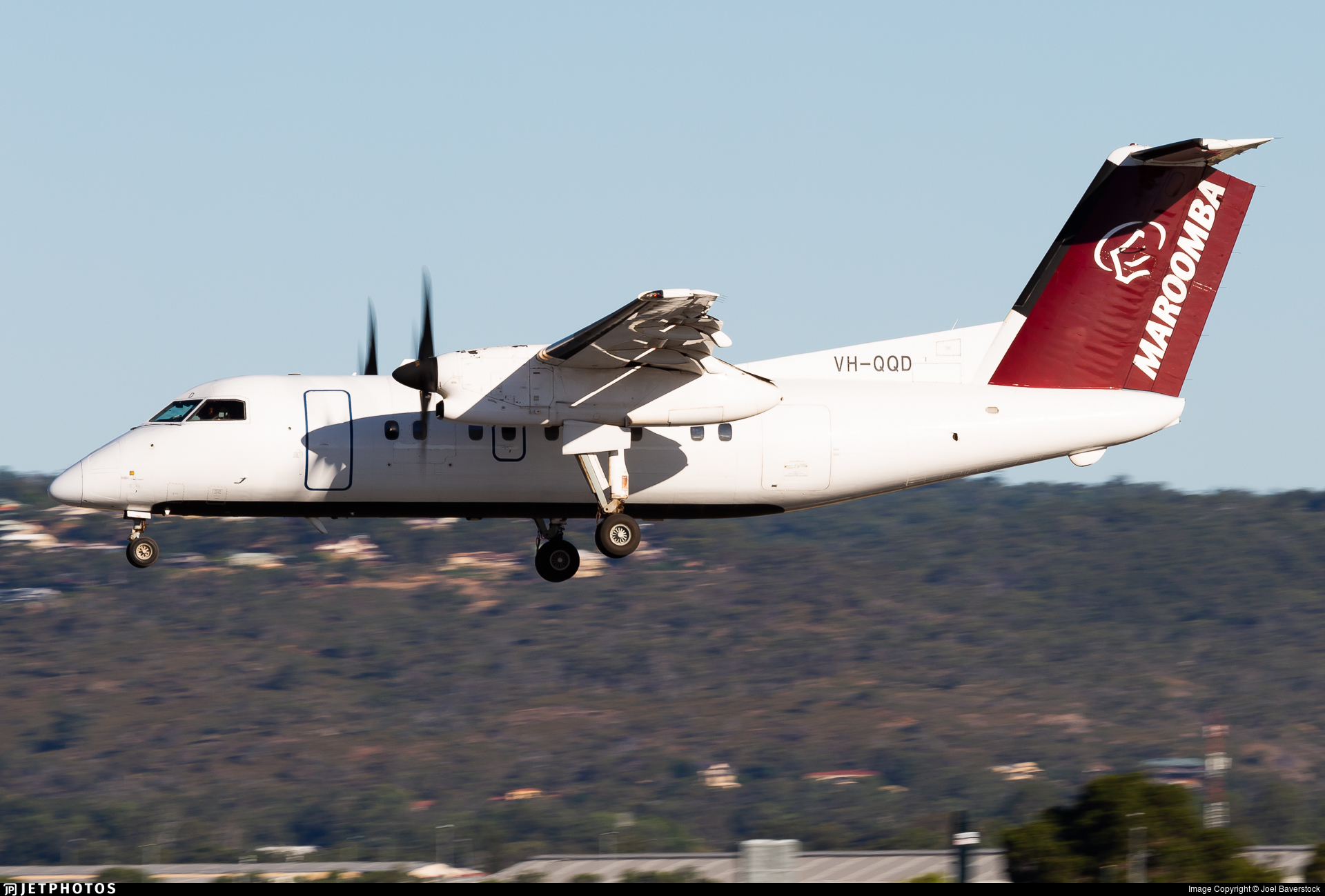 VH-QQD - Bombardier Dash 8-102 - Maroomba Airlines