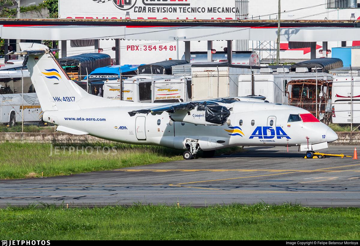 HK-4917 - Dornier Do-328-110 - ADA Aerolínea de Antioquía