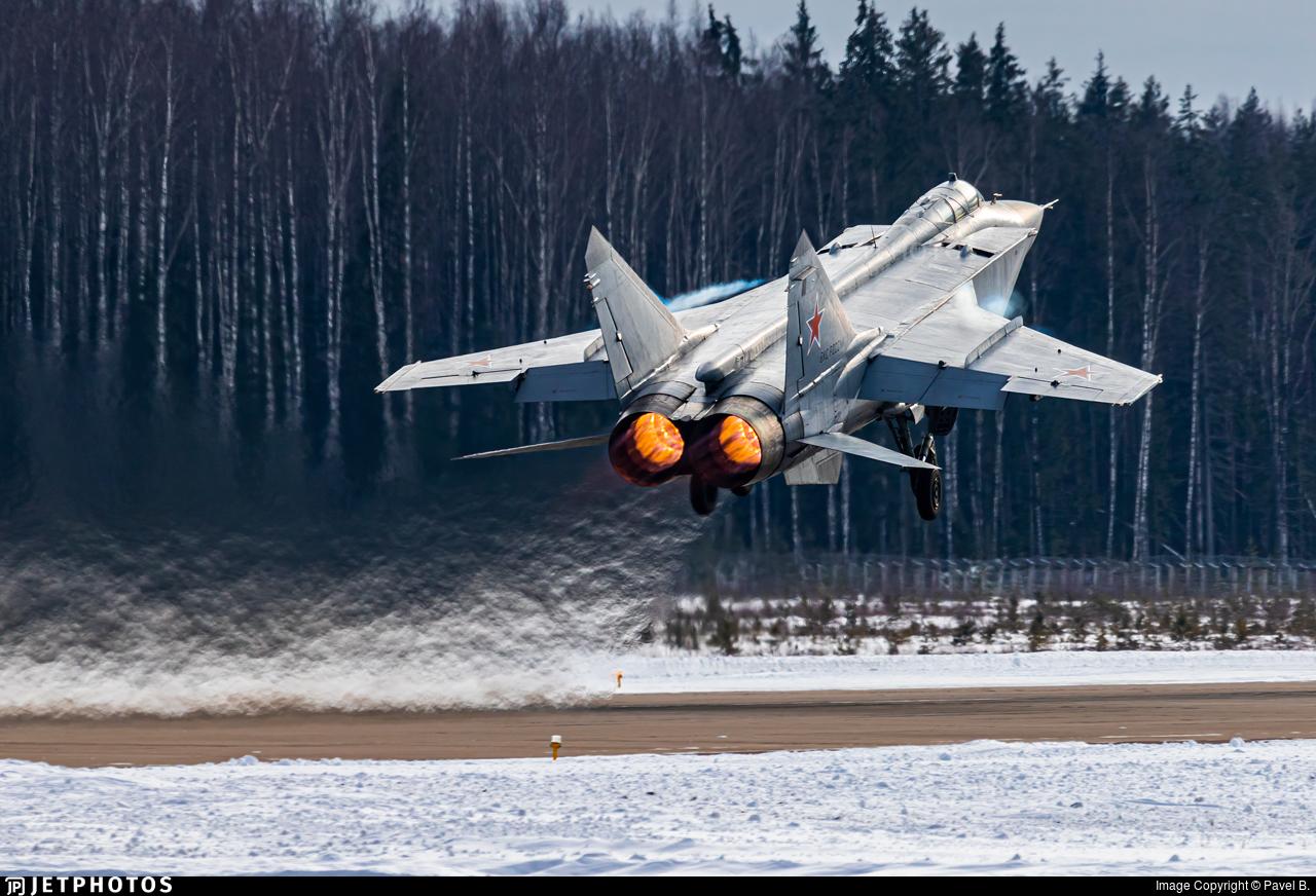58 - Mikoyan-Gurevich MiG-31BM Foxhound - Russia - Air Force