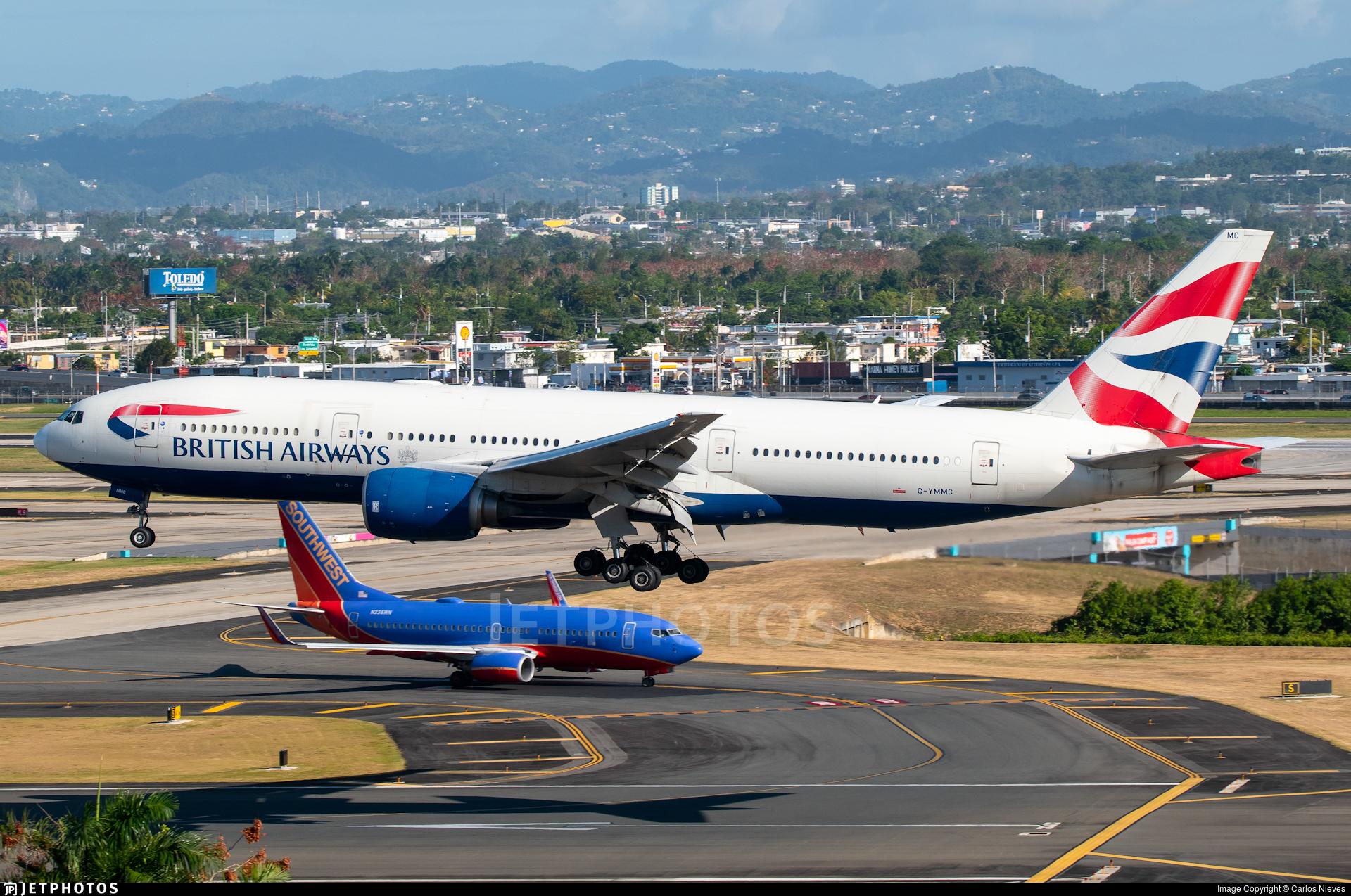G-YMMC - Boeing 777-236(ER) - British Airways