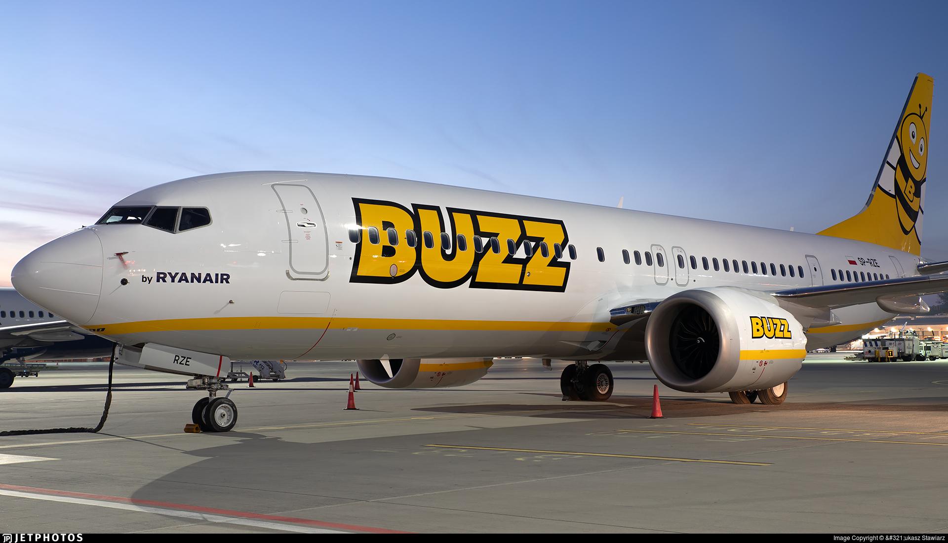 SP-RZE - Boeing 737-8-200 MAX - Buzz