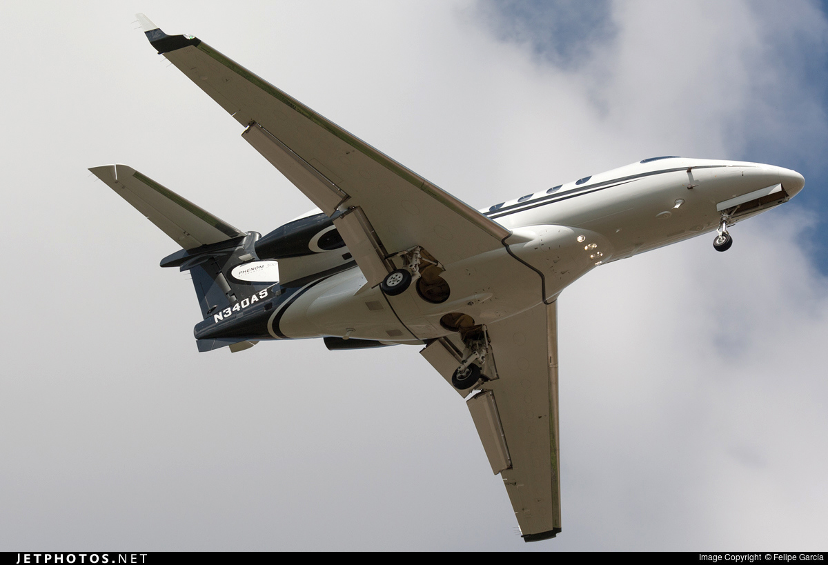 N340AS - Embraer 505 Phenom 300 - Private