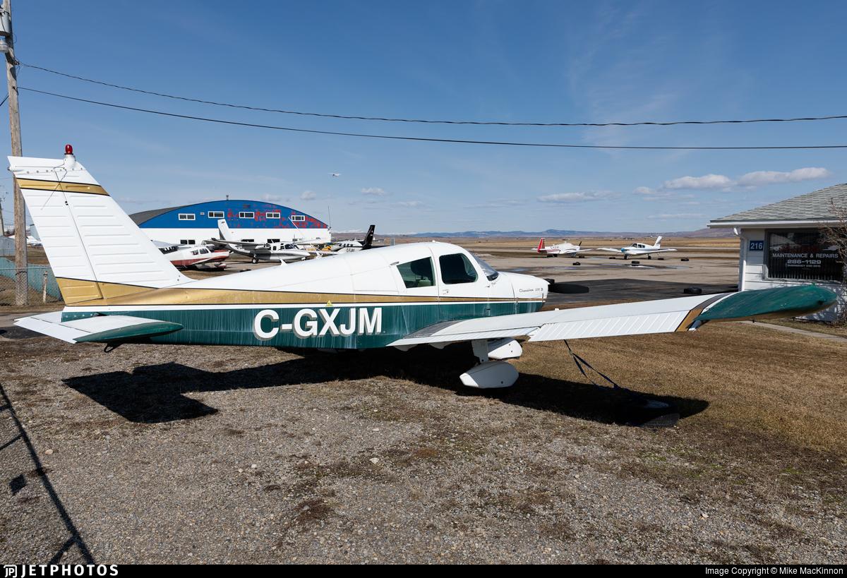 C-GXJM - Piper PA-28-235 Cherokee B - Private