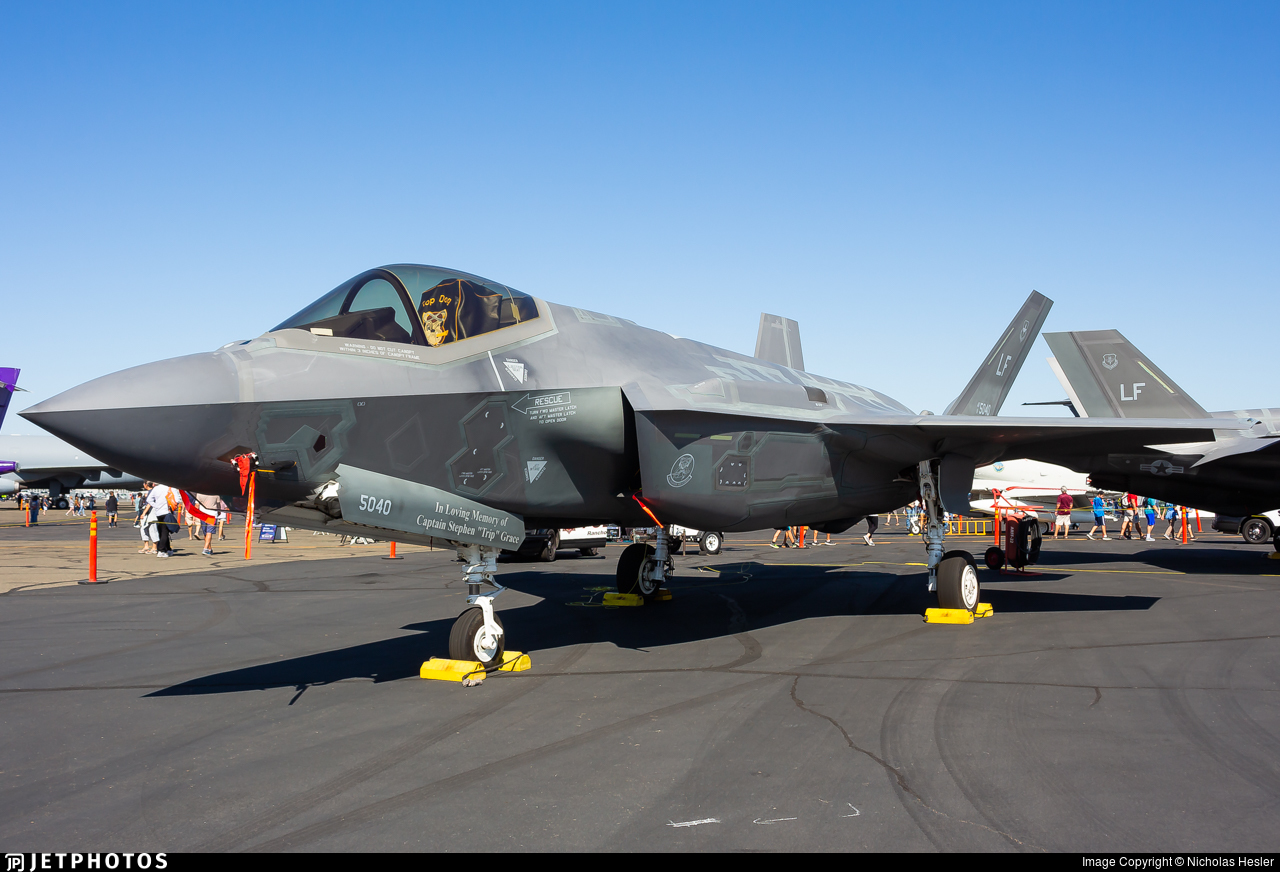 11-5040 - Lockheed Martin F-35A Lightning II - United States - US Air Force (USAF)