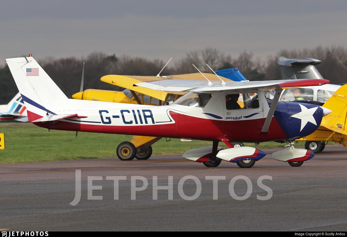 G-CIIR - Reims-Cessna FRA150L Aerobat - Private