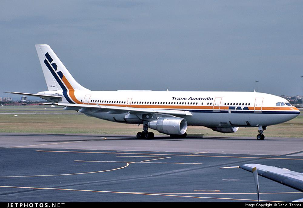 VH-TAC - Airbus A300B4-203 - Trans Australia Airlines (TAA)