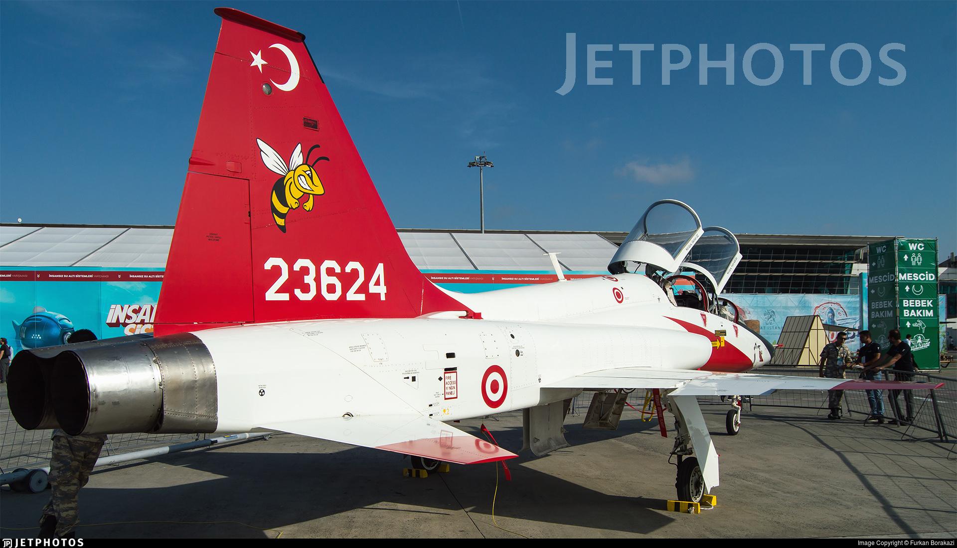 62-3624 - Northrop T-38M Talon - Turkey - Air Force