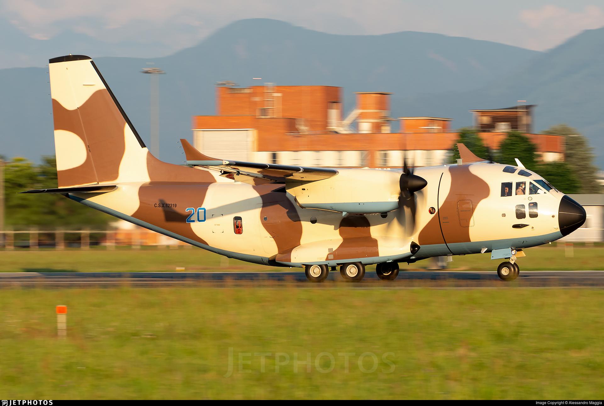 CSX62319 - Alenia C-27J Spartan NG - Turkmenistan - Air Force