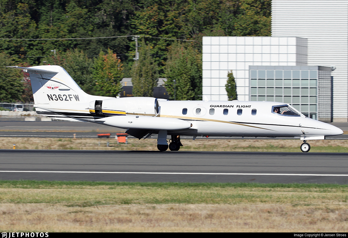 N362FW - Bombardier Learjet 35A - Guardian Flight