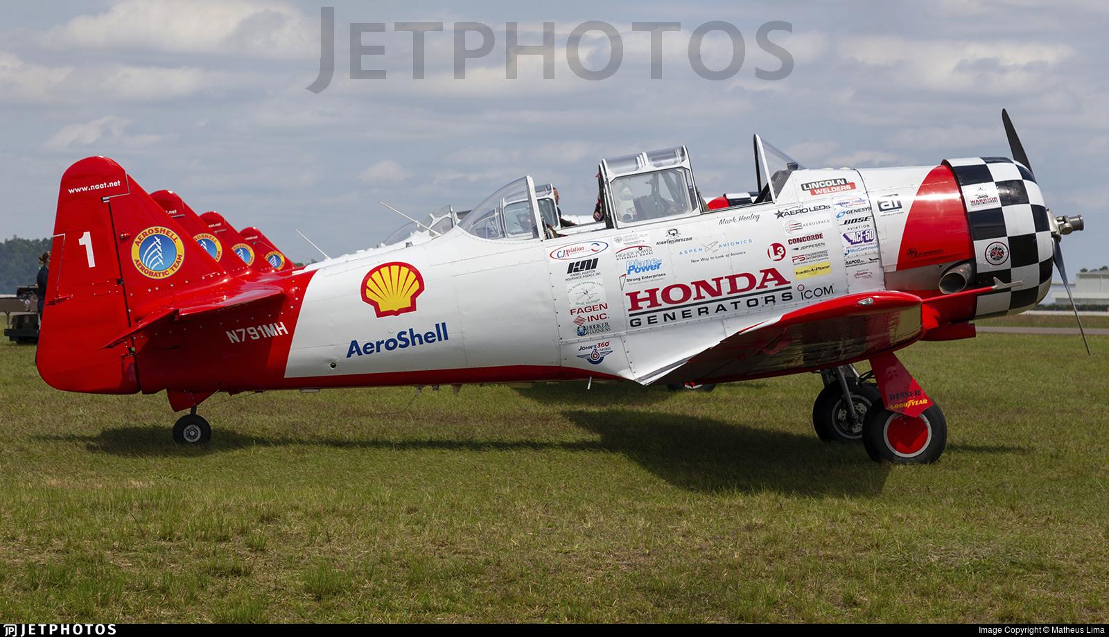 N791MH - North American AT-6G Texan - Aeroshell Aerobatic Team