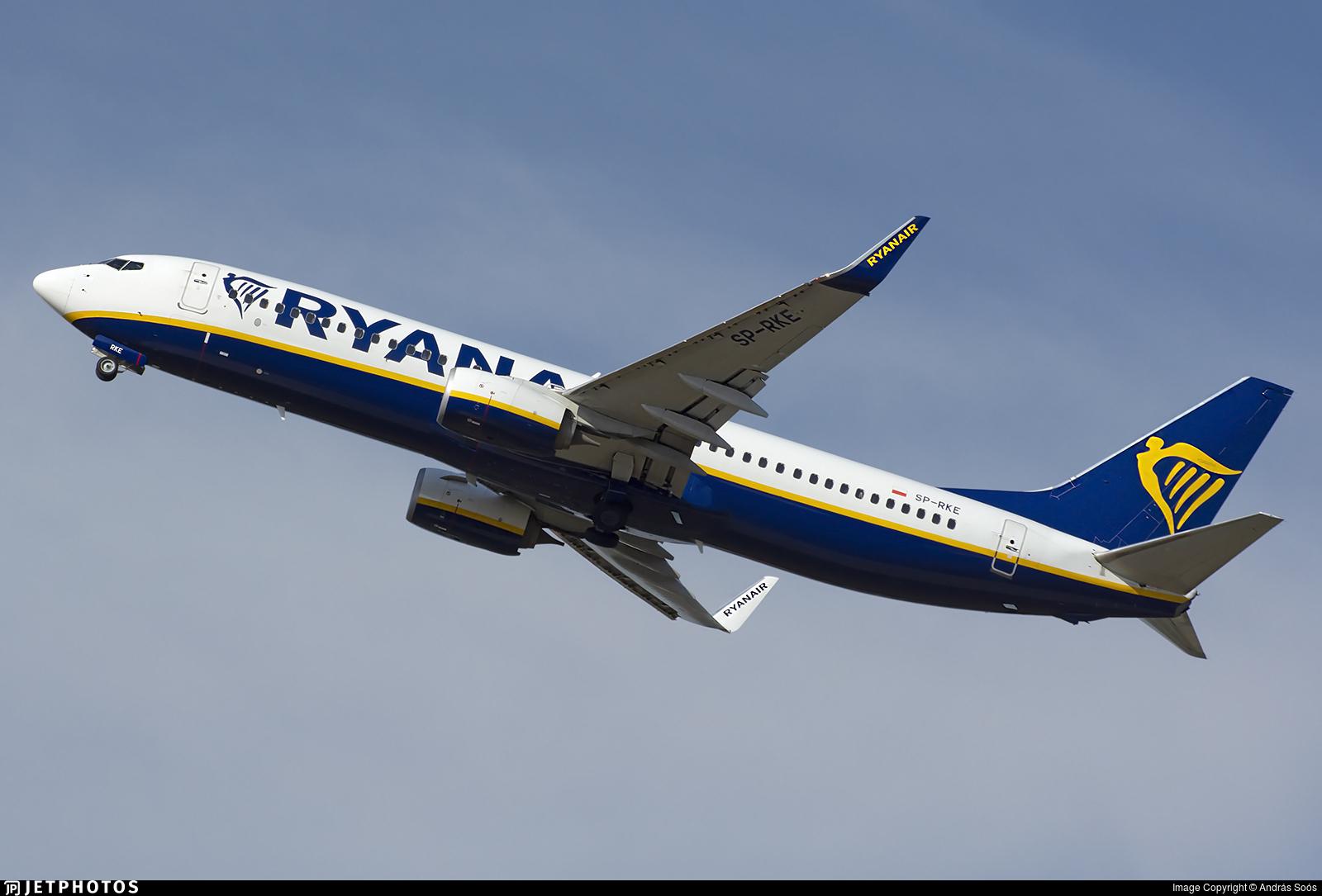 SP-RKE - Boeing 737-8AS - Ryanair Sun