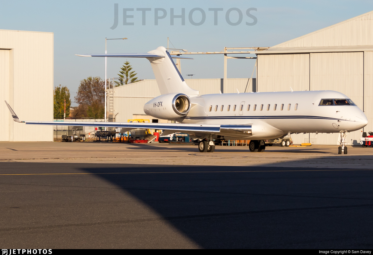 VH-OFX | Bombardier BD-700-1A10 Global 6000 | Australian Corporate Jet Centres | Sam Davey ...
