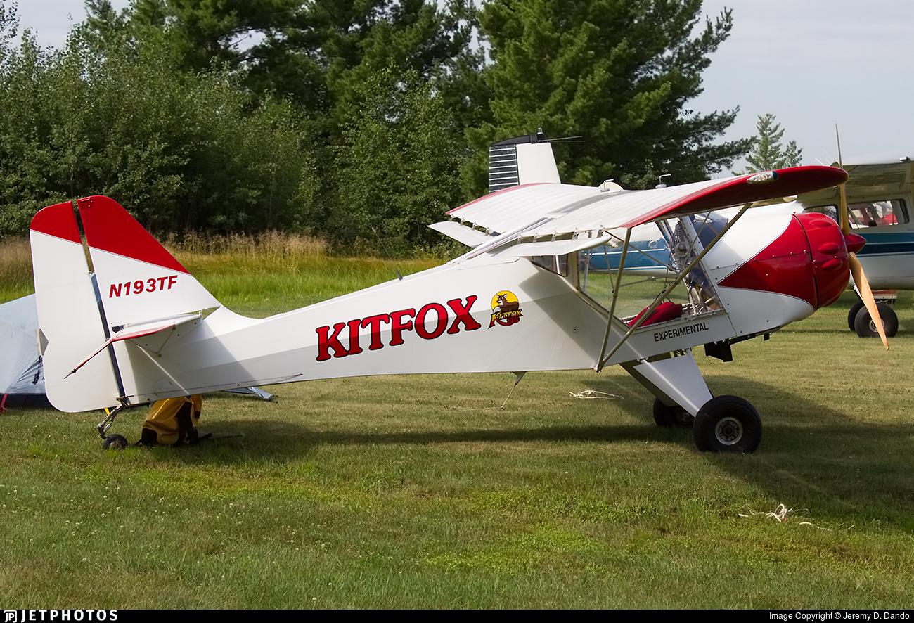 N193TF   Skystar Kitfox Model 4-1200   Private   Jeremy D