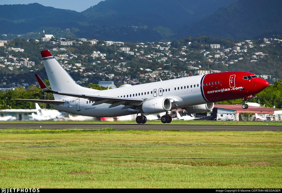EI-FJO - Boeing 737-8JP - Norwegian