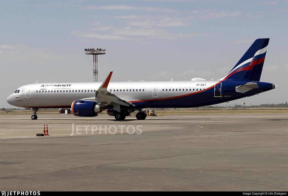VP-BXT - Airbus A321-251NX - Aeroflot