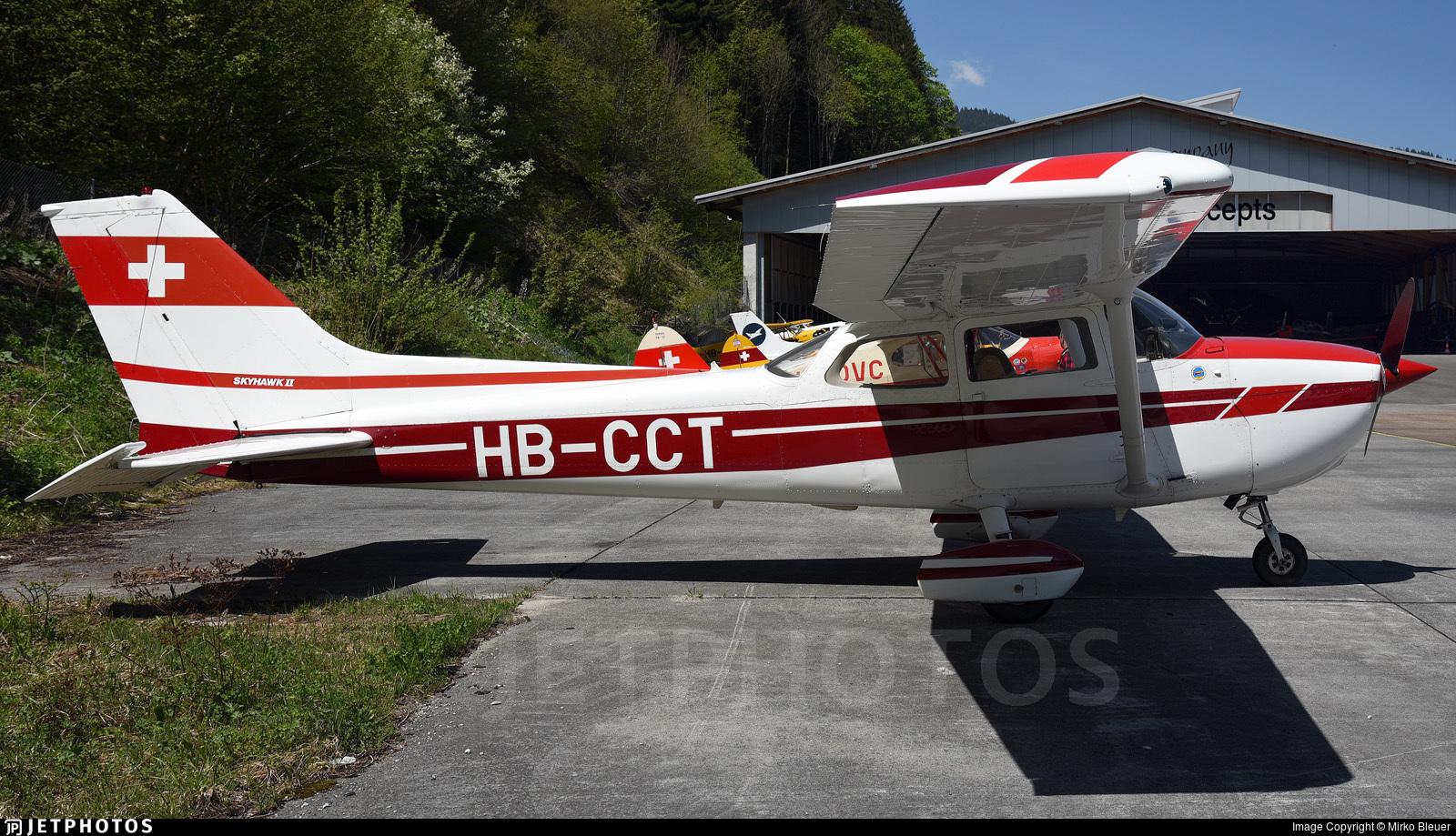 HB-CCT - Reims-Cessna F172N Skyhawk II - Fluggruppe FFA