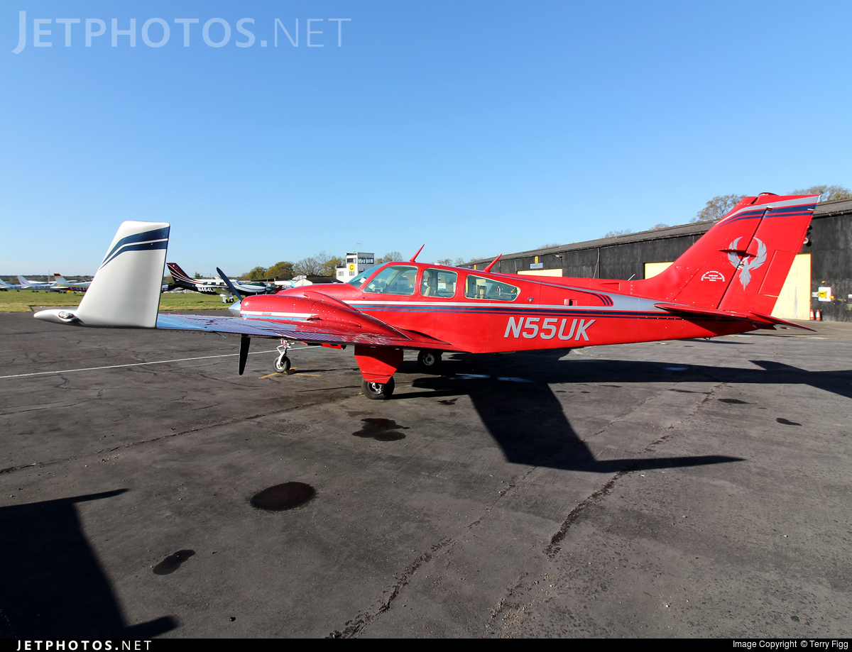 N55UK - Beechcraft 95-E55 Baron - Private