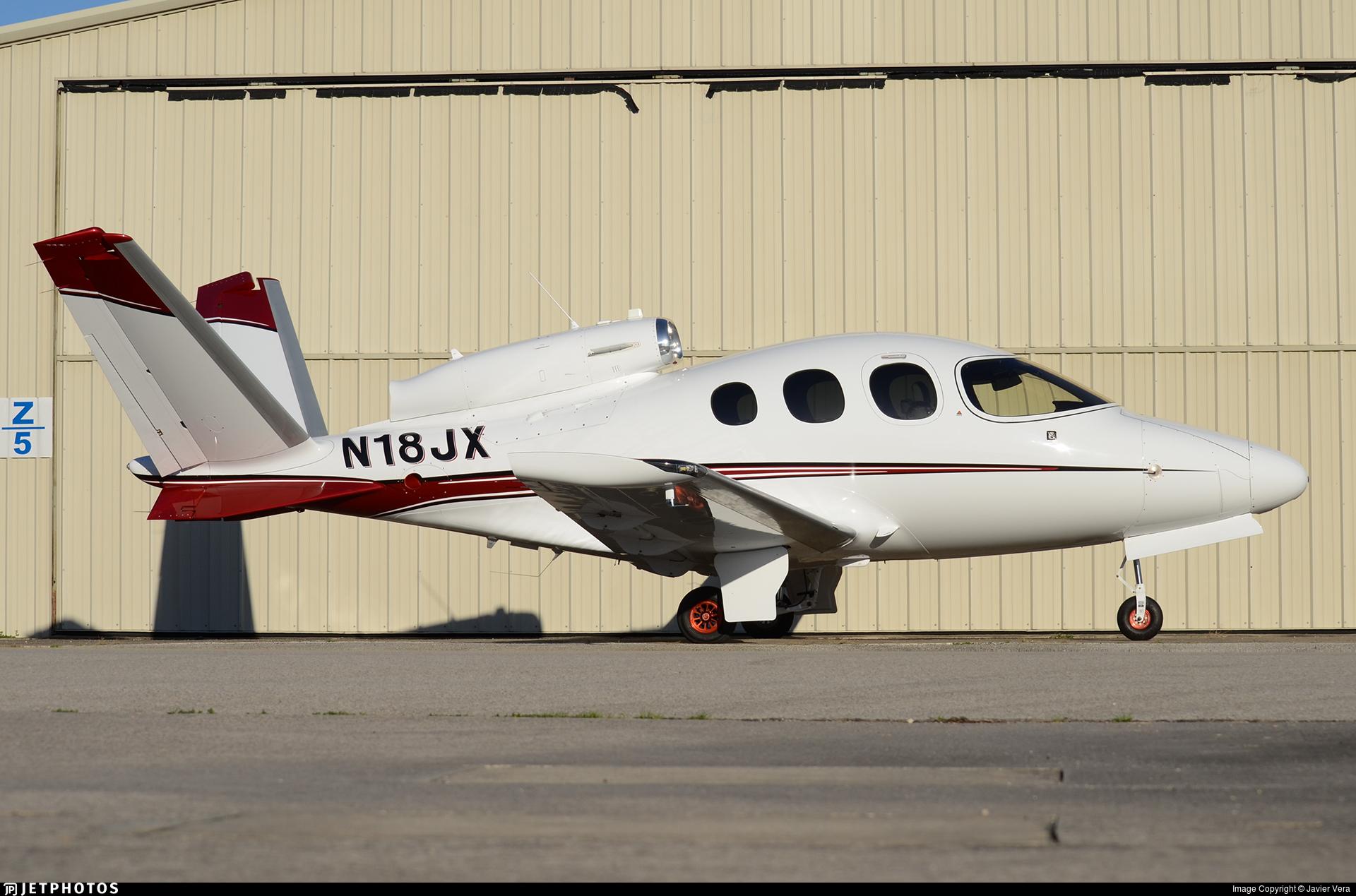 N18JX - Cirrus Vision SF50 - Private