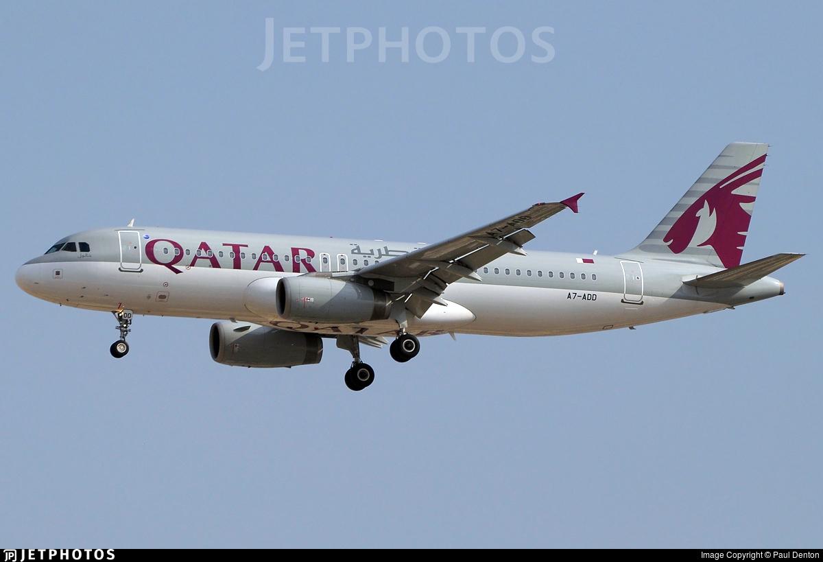 A7-ADD - Airbus A320-232 - Qatar Airways