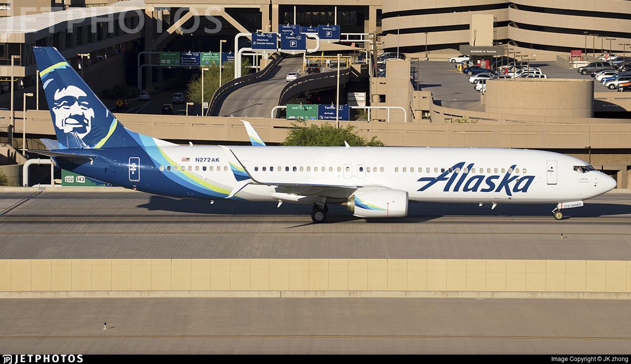 N272AK - Boeing 737-990ER - Alaska Airlines