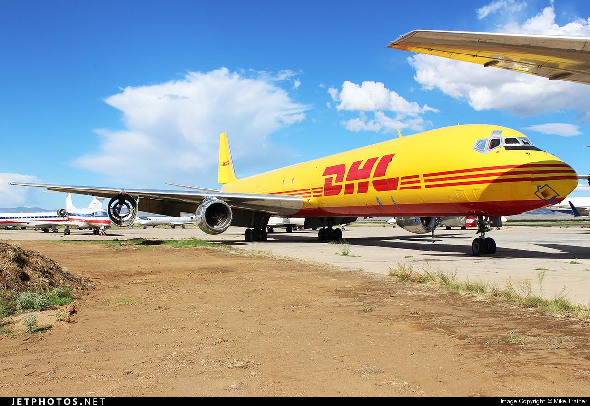 N802DH - Douglas DC-8-73(AF) - DHL (ASTAR Air Cargo)