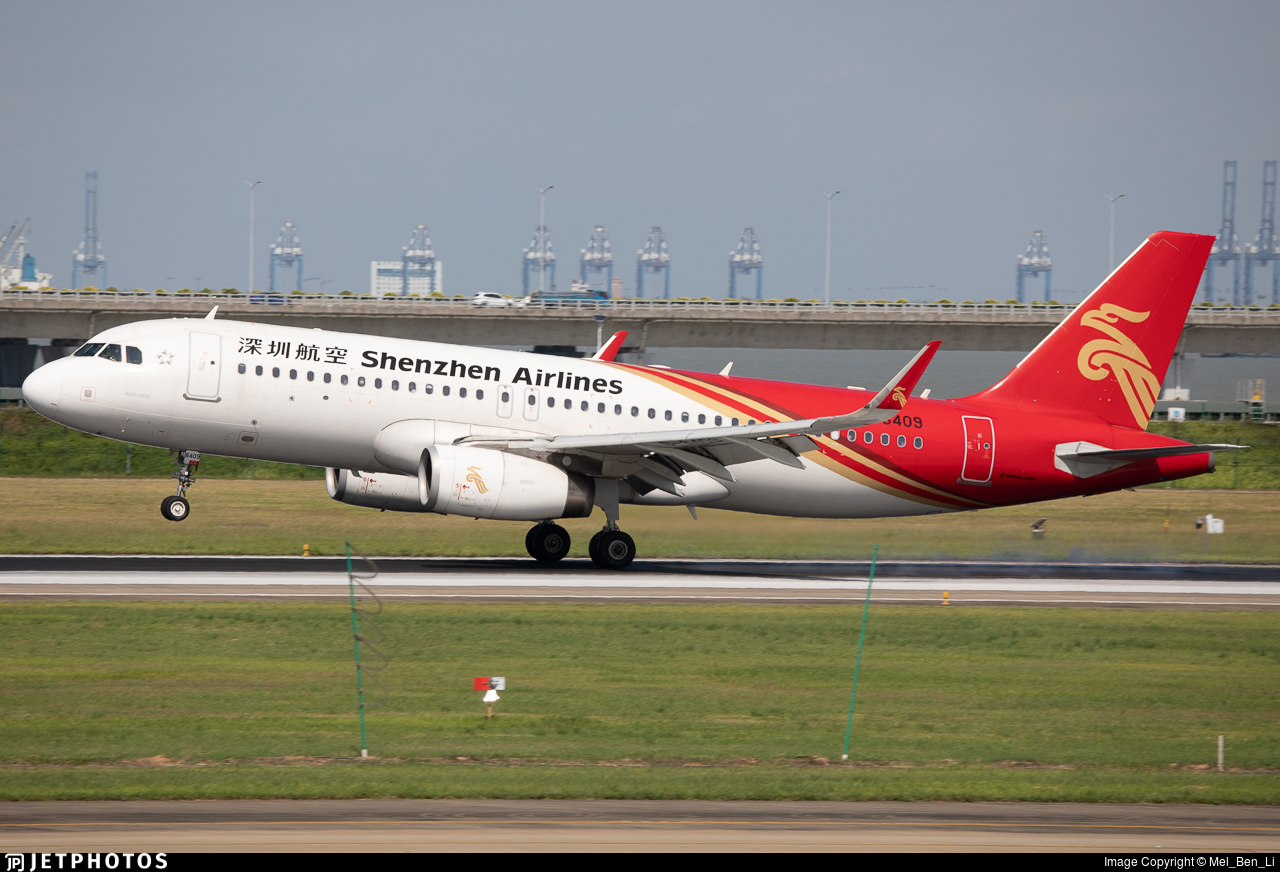 B-8409 - Airbus A320-232 - Shenzhen Airlines