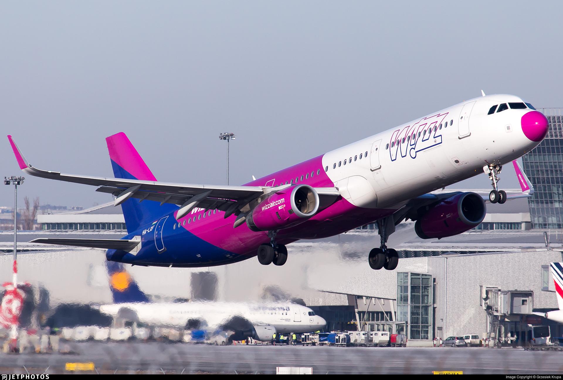 Ha Lxf Airbus A321 231 Wizz Air Grzesiek Krupa Jetphotos