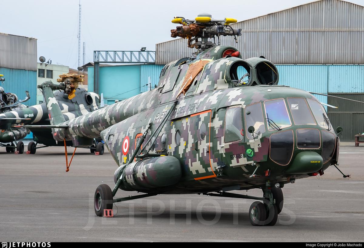 EP-668 - Mil Mi-171Sh Baikal - Perú - Army
