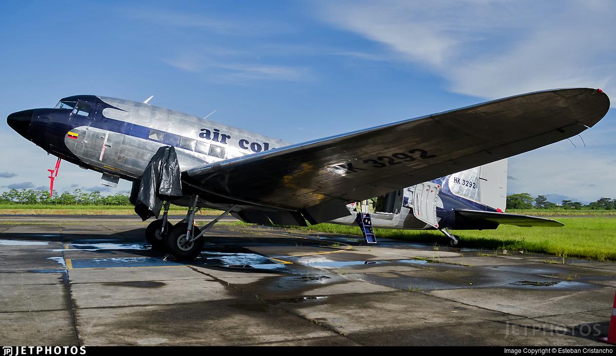 HK-3292 - Douglas DC-3C - Air Colombia