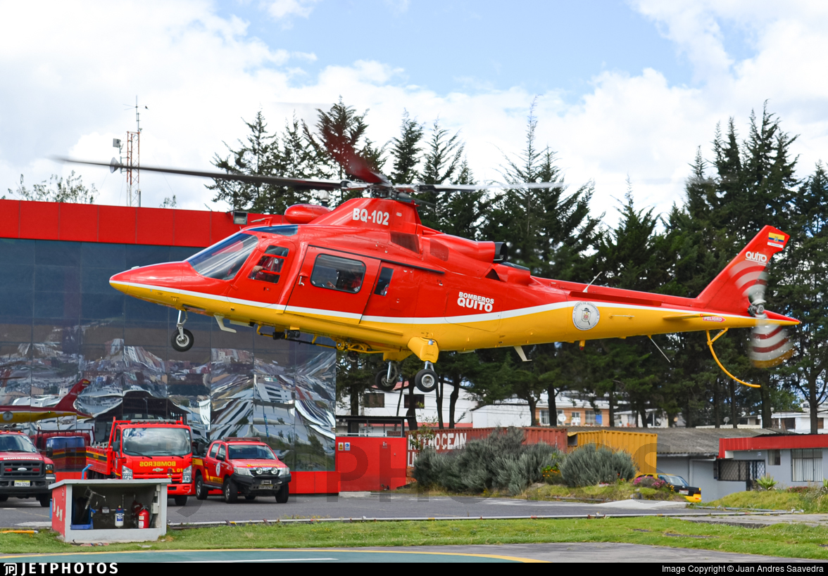 BQ-102 - Agusta A109K2 - Ecuador - Quito Firefighters
