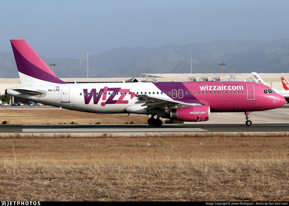 HA-LPD - Airbus A320-233 - Wizz Air