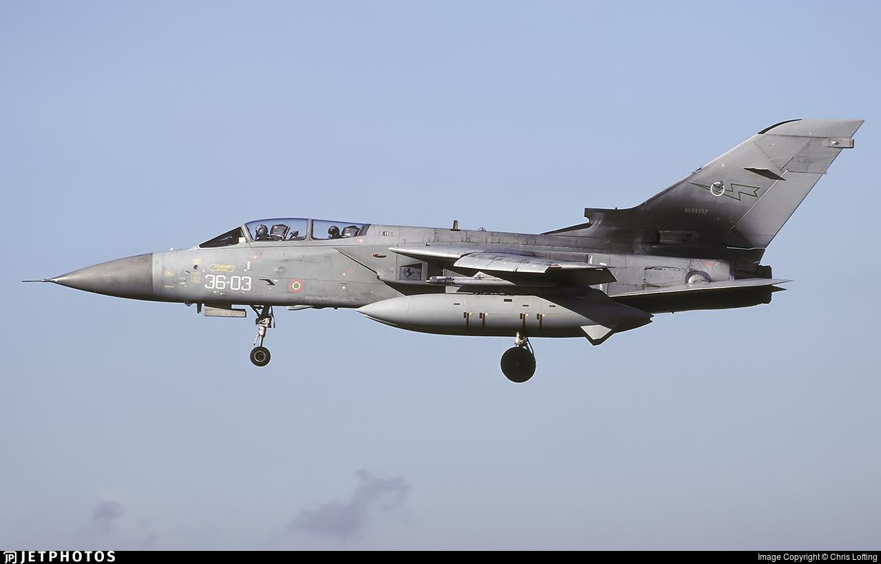 MM55057 - Panavia Tornado F.3 - Italy - Air Force