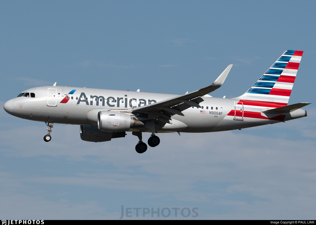 N9004F - Airbus A319-112 - American Airlines