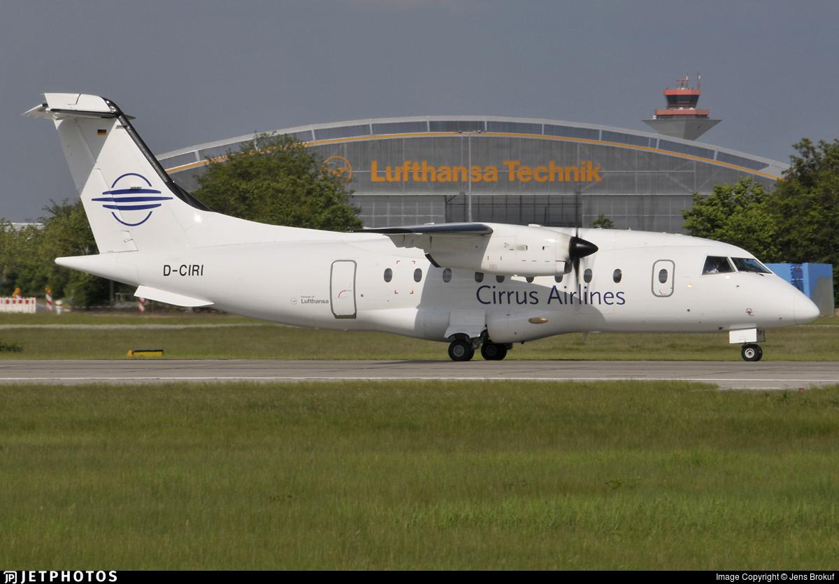 D-CIRI - Dornier Do-328-110 - Cirrus Airlines