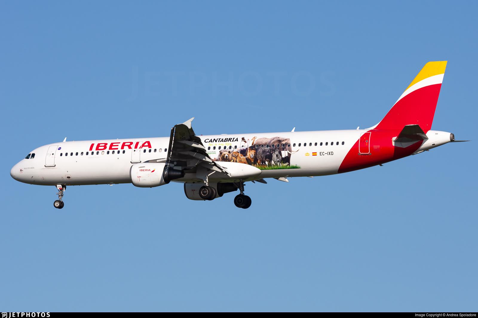EC-IXD - Airbus A321-212 - Iberia