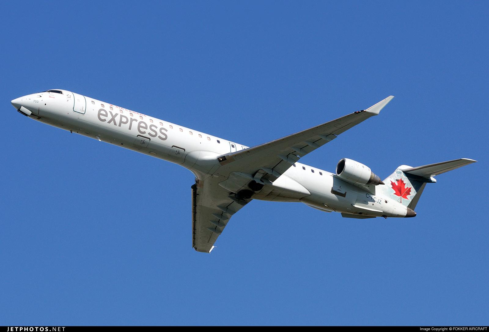 C-FCJZ - Bombardier CRJ-705LR - Air Canada Express (Jazz Aviation)