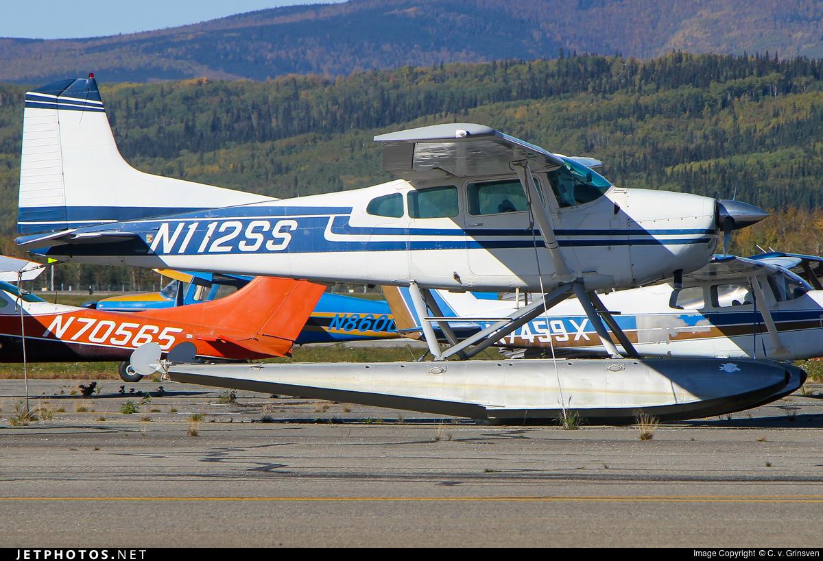 N112SS - Cessna 180J Skywagon - Private