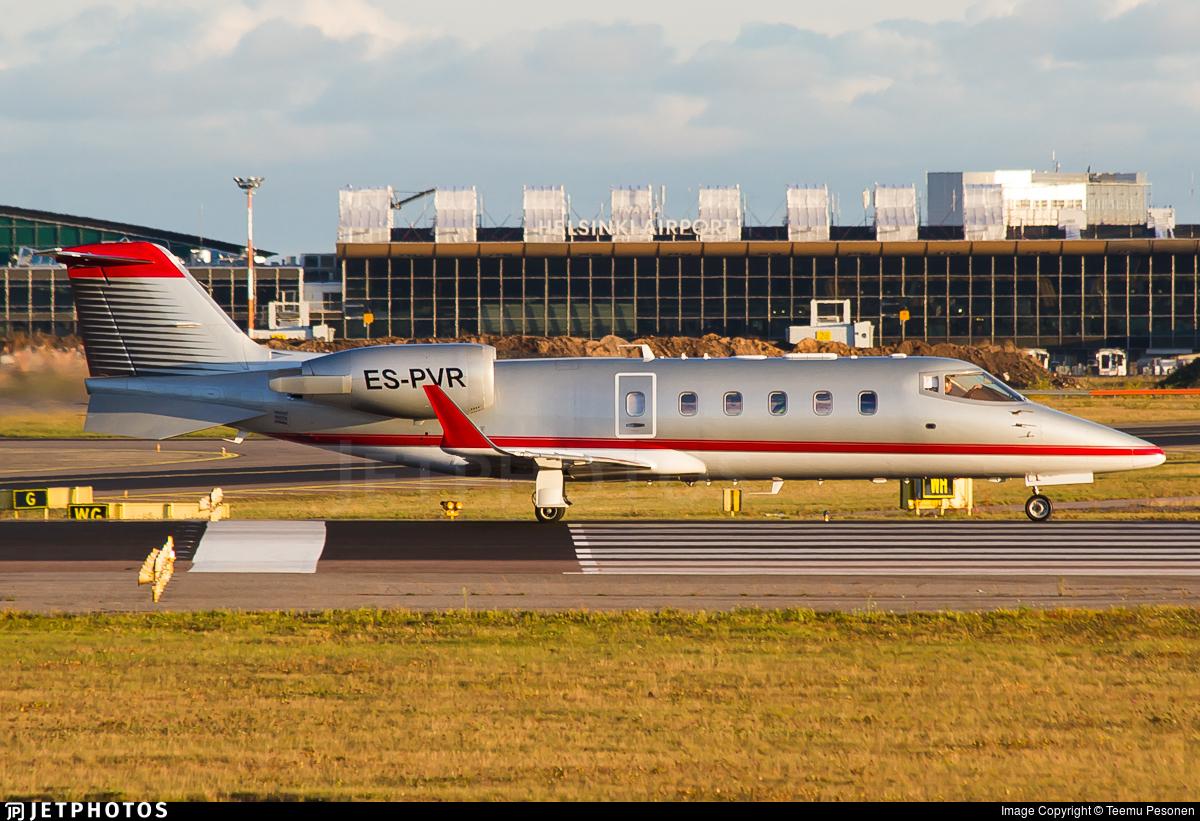 ES-PVR - Bombardier Learjet 60 - Panaviatic