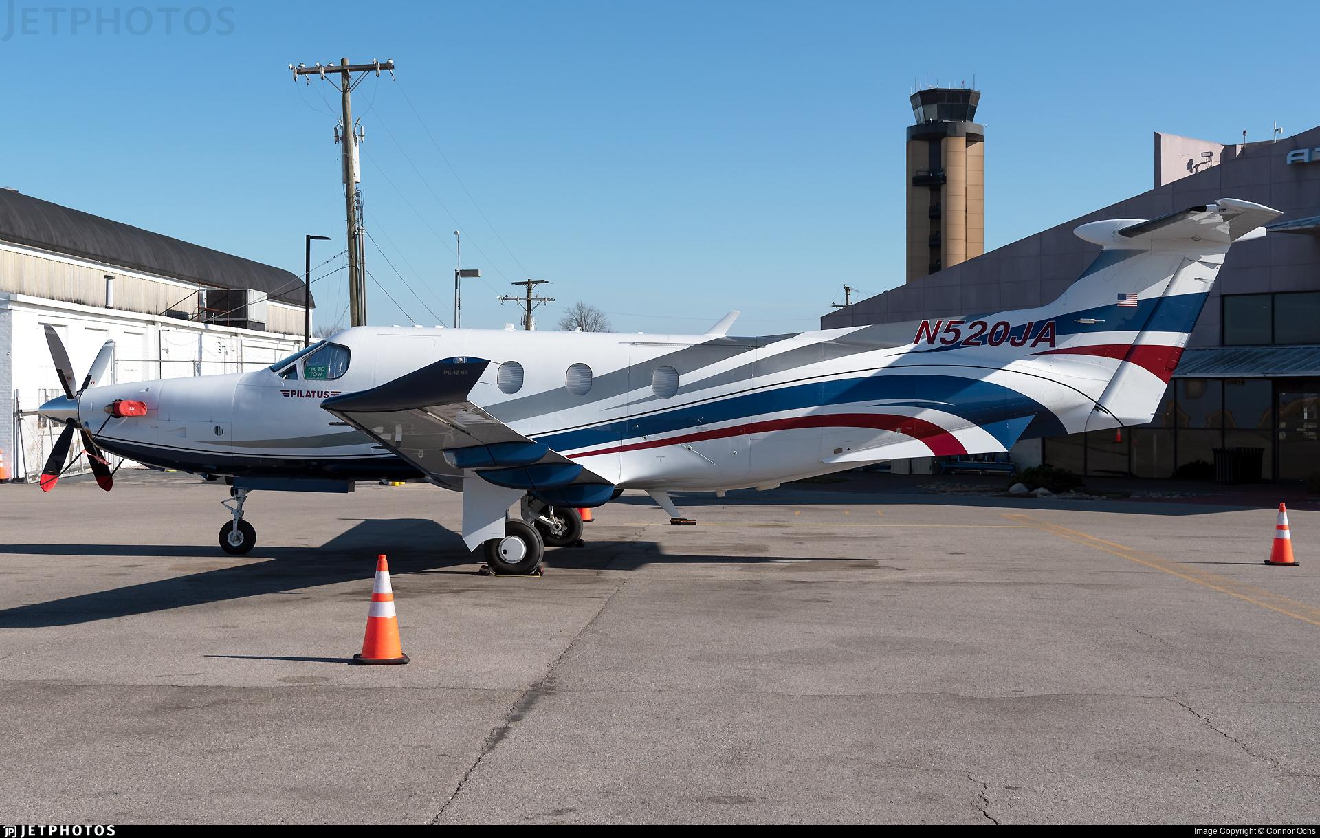 N520JA - Pilatus PC-12/47E - Private