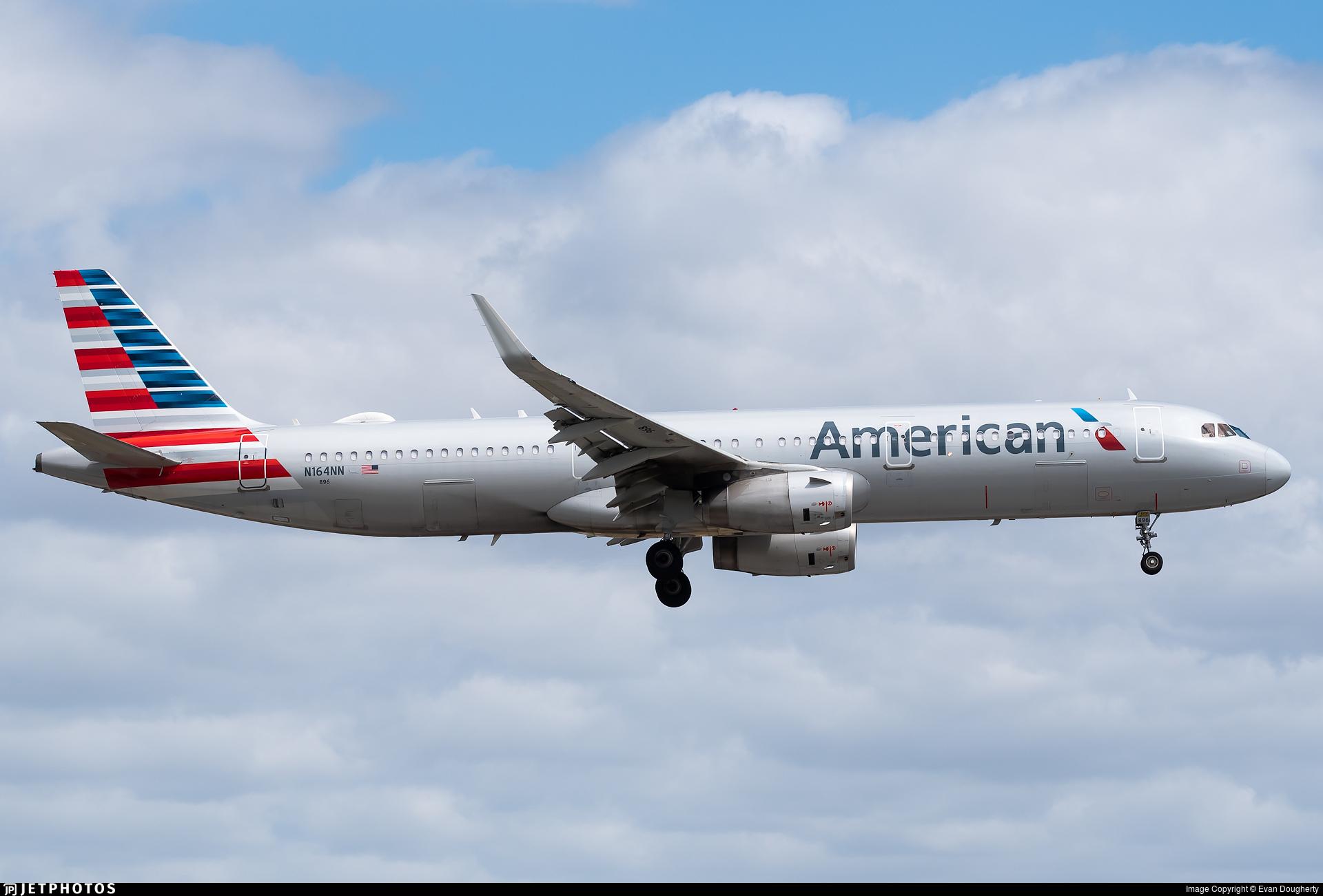 N164NN - Airbus A321-231 - American Airlines