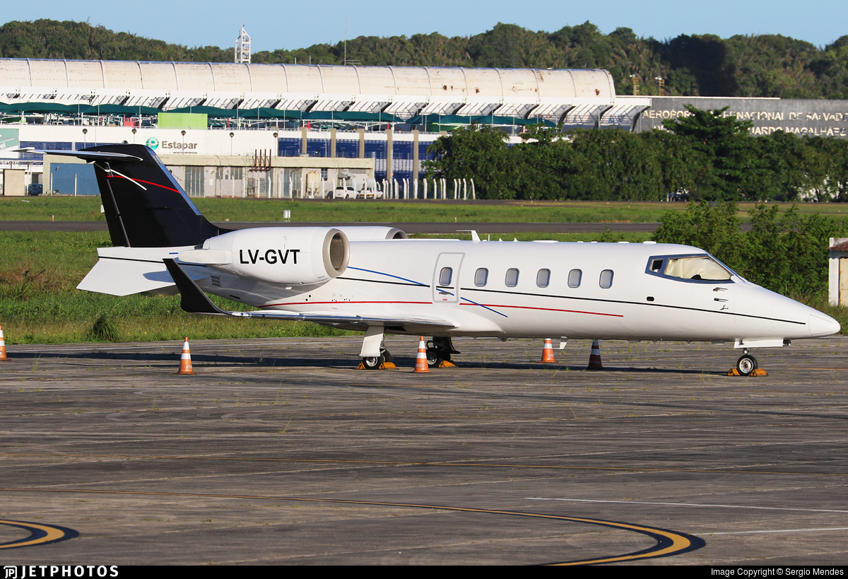 LV-GVT - Bombardier Learjet 60 - Private