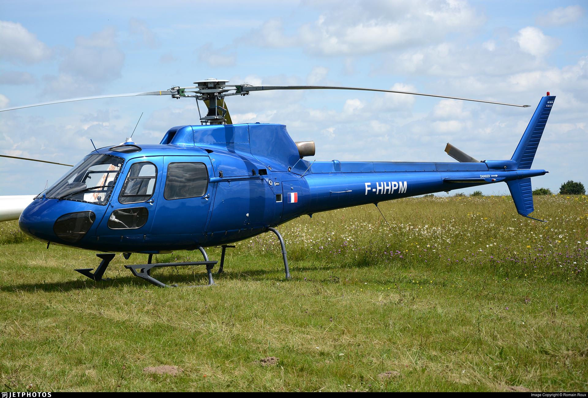 F-HHPM - Aérospatiale AS 350BA Ecureuil - Private