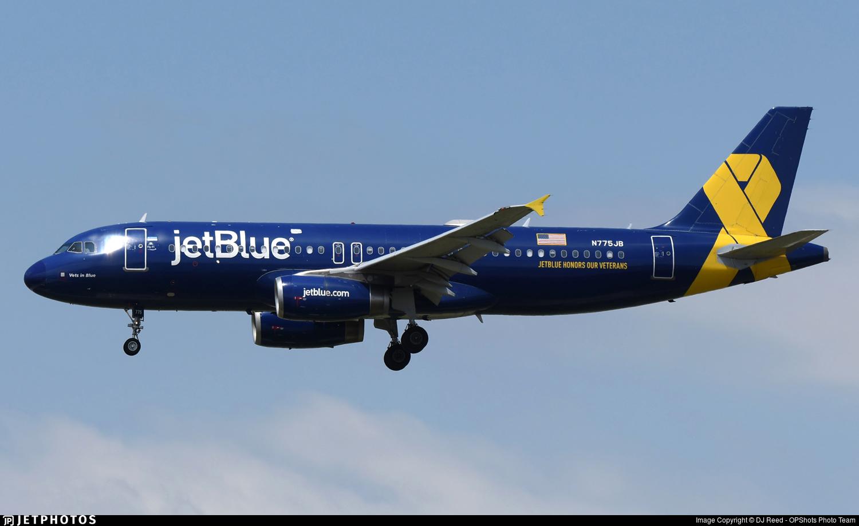 N775JB - Airbus A320-232 - jetBlue Airways