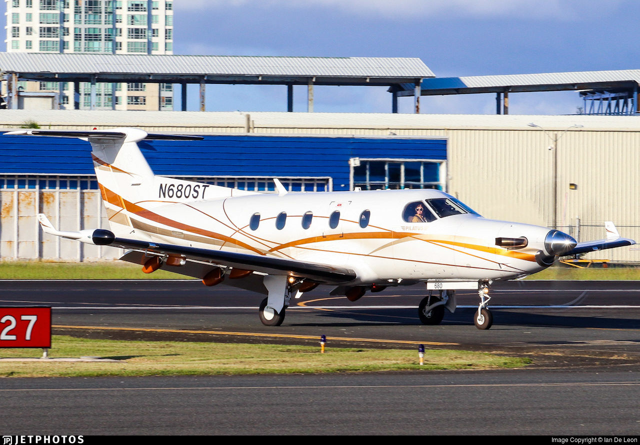 N680ST  - Pilatus PC-12/45 - Private