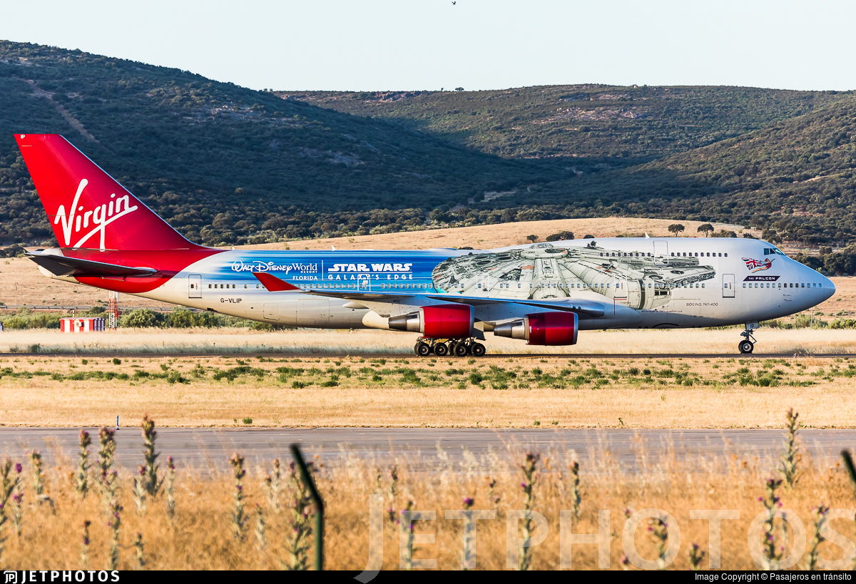G-VLIP - Boeing 747-443 - Virgin Atlantic Airways