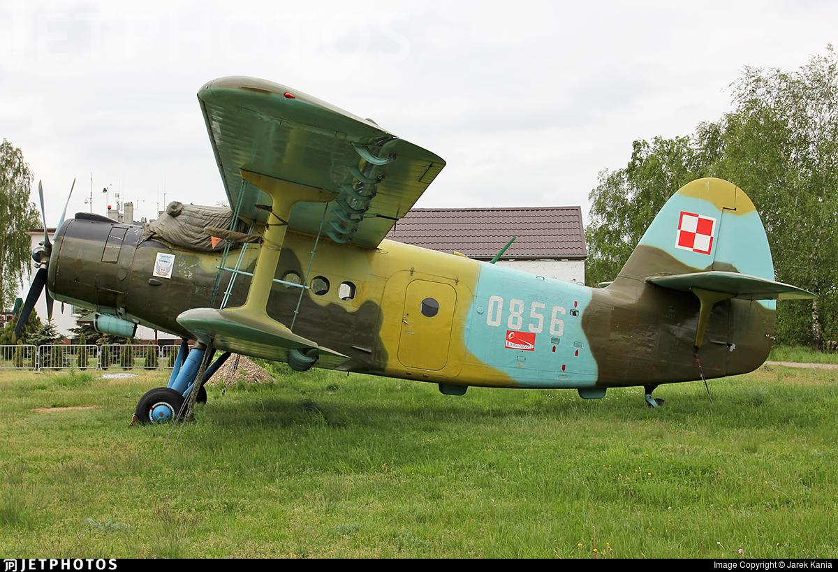 0856 - PZL-Mielec An-2T - Poland - Air Force