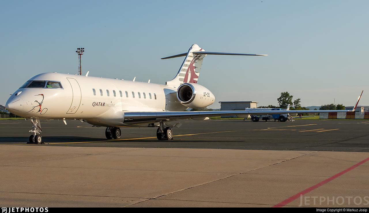 A7-CEE - Bombardier BD-700-1A11 Global 5000 - Qatar Executive