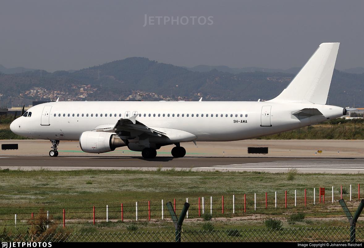 9H-AMA - Airbus A320-214 - Avion Express Malta