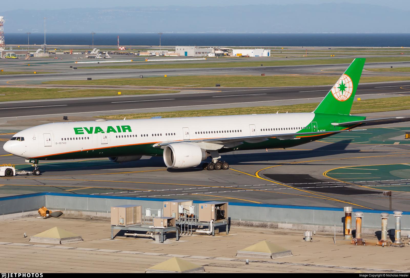B-16740 - Boeing 777-35EER - Eva Air