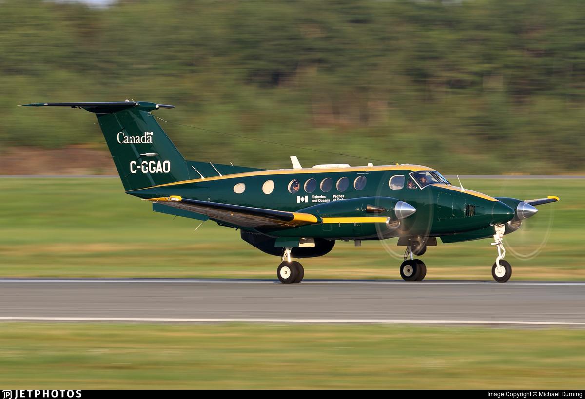 C-GGAO - Beechcraft 200 Super King Air - Canada - Fisheries and Oceans